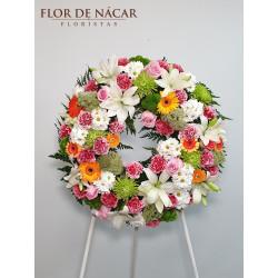Corona de Flores Edén