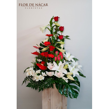 Centro de Flores Lambada