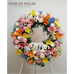 Corona de Flores Triana