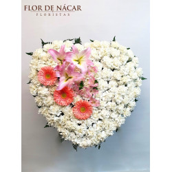 Corazón de Flores Latido