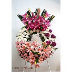 Corona de Flores Toscana