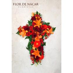 Cruz de Flores Atardecer