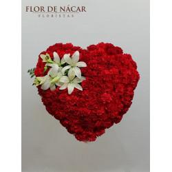 Corazón de Flores Magma