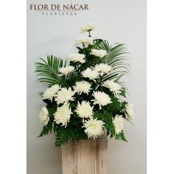 Centro de Flores Perlado