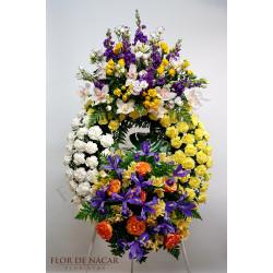 Corona de Flores Alba
