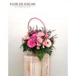 Cesta de Flores Donna