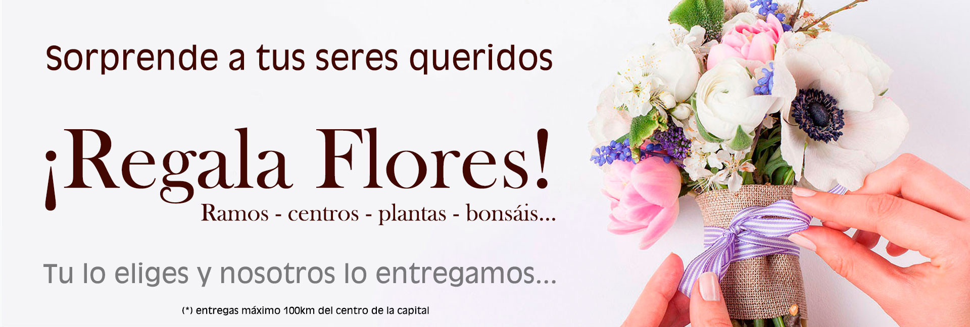 Compra flores en Cuenca